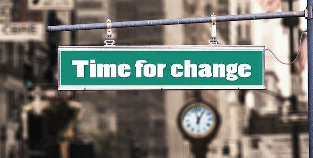 時間を変える