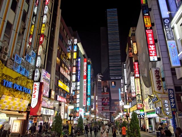 競馬で勝って歌舞伎町へ