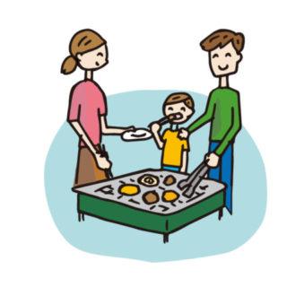 競馬をせずに家族と遊ぶ休日