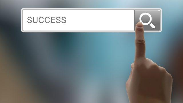 成功の検索