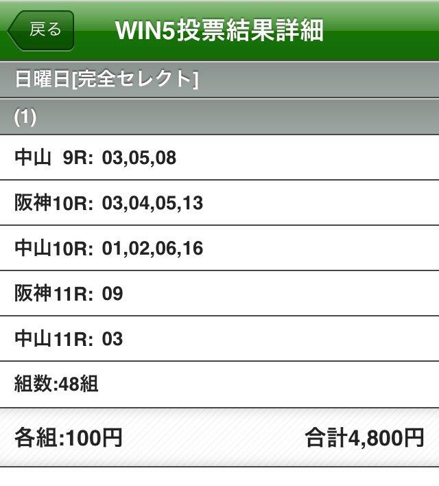 【競馬】ウイン5
