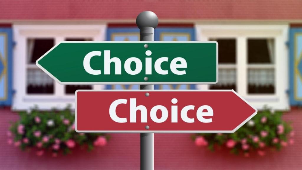選択の写真